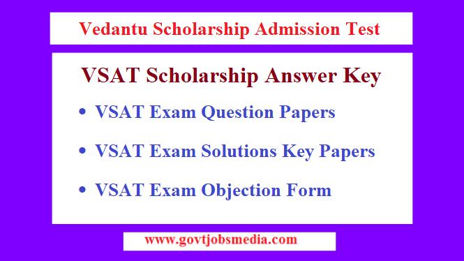 VSAT Answer Key