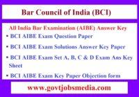 BCI AIBE Answer Key
