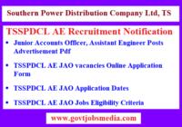 TSSPDCL AE Recruitment Notification