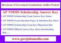 AP NMMS Answer Key