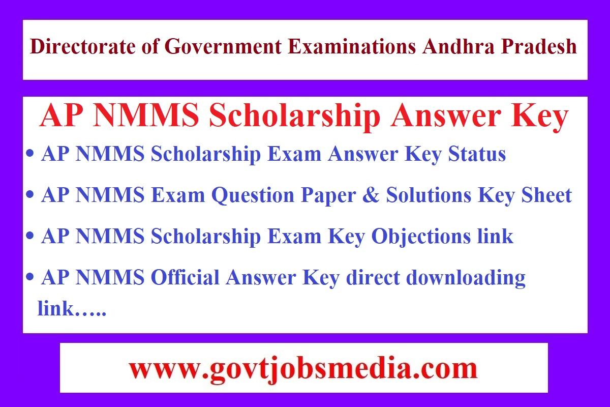 AP NMMS Answer Key