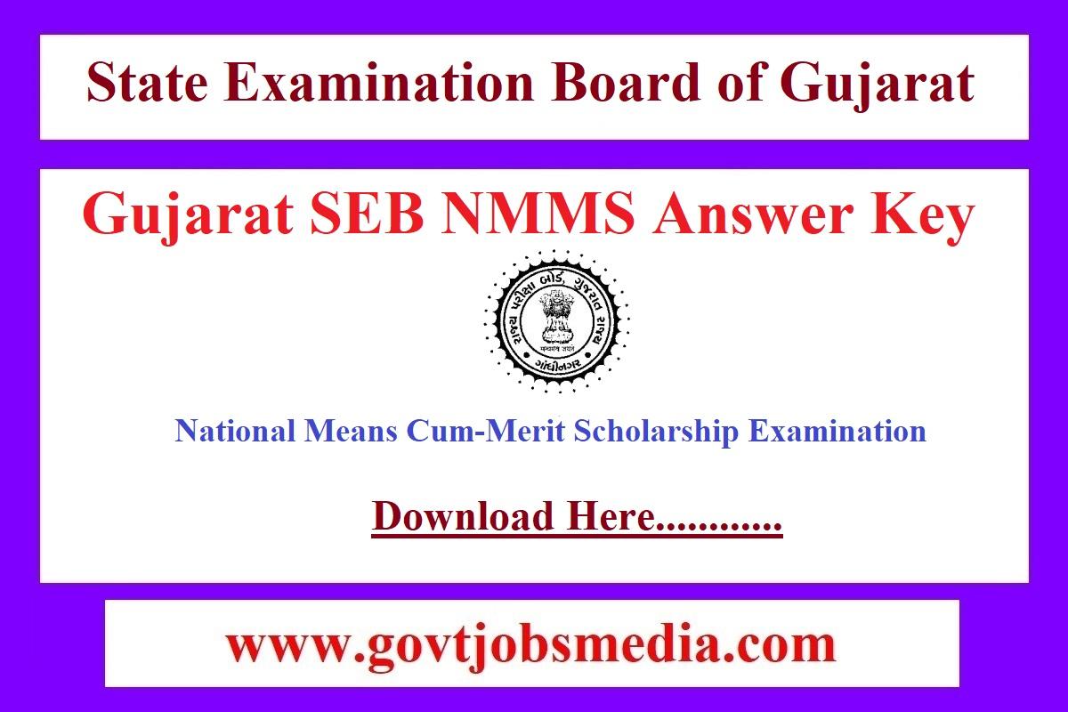 SEB NMMS Answer Key