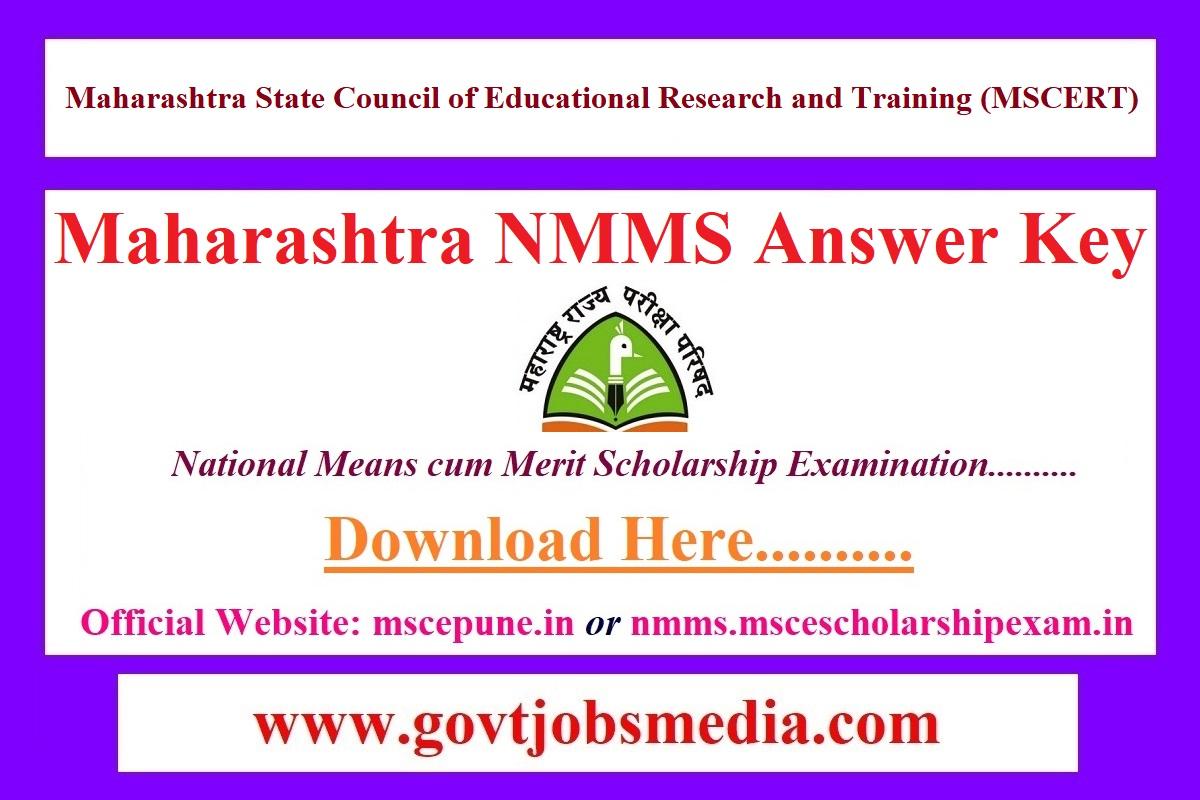 Maharashtra NMMS Answer Key