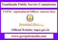 TNPSC AAO Answer Key