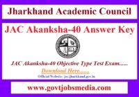 JAC Akanksha-40 Answer Key